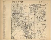 Iron River T47N-R8W, Bayfield County 1954